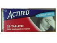 Picture of Actifed 20 Tablets (Dischem / Clicks)