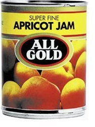 Picture of All Gold Super Fine Apricot Jam 450gr