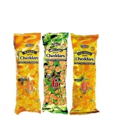 Picture of Bakers Mini Cheddars  33 Gr Strip Pack 6ea
