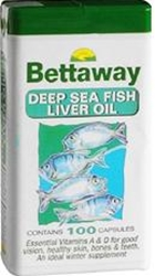 Picture of Bettaway Deep Sea Fish Liver Oil