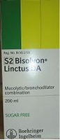 Picture of Bisolvon Linctus Cough Syrup 200ml