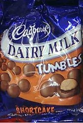Picture of Cadbury Tumbles - shortcake 200g