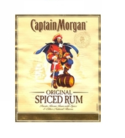 Picture of Captain Morgan Black Label Rum 750ml