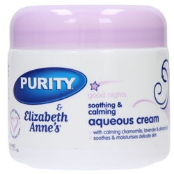 Picture of Elizabeth Anne's & Purity Good Nights: Baby Aqueous Cream 350ml
