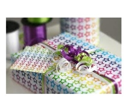 Picture of Gift wrapping and card to go with the gift