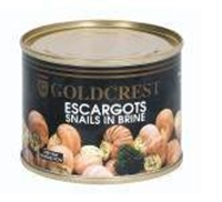 Picture of Goldcrest Snails In Brine 200 GR