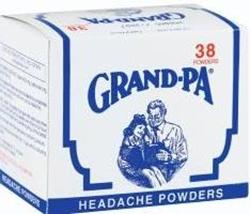 Picture of Grandpa Headache powders  38