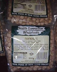 Picture of Health Connection Wholefoods Chickpeas Dried 500g