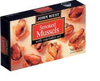 Picture of John West Smoked Mussels In Vegetable Oil 85gr