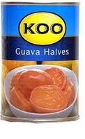 Picture of Koo Choice Grade Guava Halves 410gr