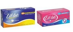 Picture of Lil-lets Tampons NON applicator REGULAR 16's
