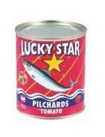 Picture of Lucky Star Pilchards In Tomato Sauce 215 Gr