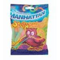 Picture of Manhattan Jellyland Sour Worms 125 Gr