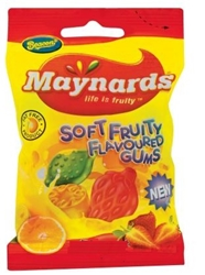 Picture of Maynards Sweets Soft Fruity Gums 125g