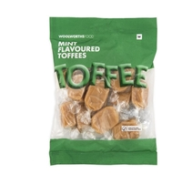 Picture of Mint Flavoured Toffees 125g