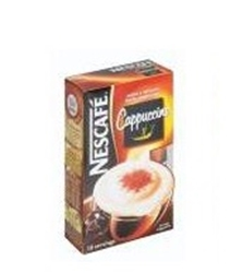 Picture of Nestle Nescafe  Cappuccino 18gr 10 Ea