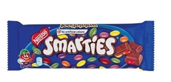 Picture of Nestle Smarties Milk Slab 80 GR