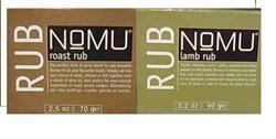 Picture of Nomu Lamb Rub 90g