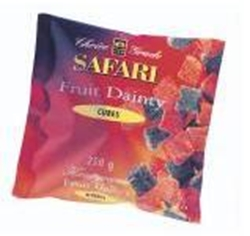 Picture of Safari Fruit dainties cubes250g