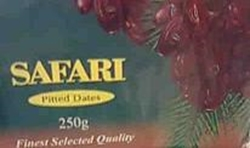 Picture of Safari pitted dates 250g