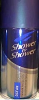 Picture of Shower to Shower Ocean Deodorant 120ml - men