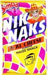 Picture of Simba Nik Naks Real Cheese 150g  - x4 bags!