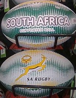 Picture of Springbok rugby supporters Ball