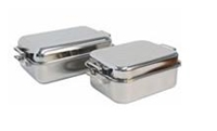 Picture of Stainless Steel Double roasting pan +/- 350mm x 280mm x 130mm MEDIUM