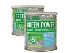 Picture of The Real Thing Green Power  150g   (Powder)