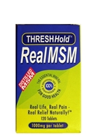 Picture of ThreshHold Real MSM 100mg  120's