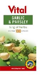Picture of Vital Garlic and Parsley 100 capsules
