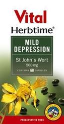 Picture of Vital Herbtime Mild Depression St John's Wort: 60 capsules