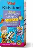 Picture of Vital Kidstime Focus 60 capsules