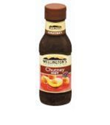 Picture of Wellingtons Hot Chutney (plastic squeeze bottle) 470g