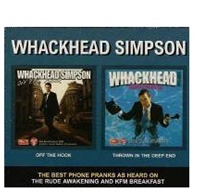 Picture of Whackhead simpson - Off The Hook / Thrown In The Deep End