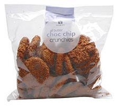 Picture of Woolworths All Butter Choc Chip Crunchies