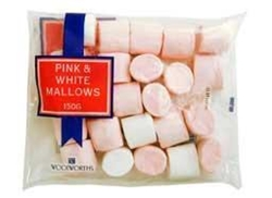 Picture of Woolworths Pink & White Marshmallows 150g