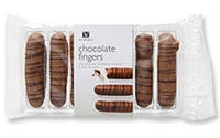 Picture of Woolworths Shortbread Fingers chocolate coated 110g