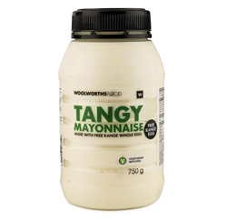 Picture of Woolworths Tangy Mayonnaise  750g