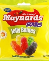 Picture of Beacon Maynards sour jelly babies 125g